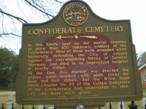 confederate cemetary